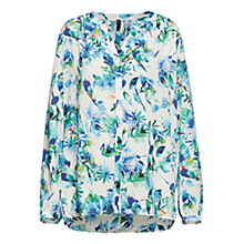 Buy NYDJ San Tropez Jasmine Print Blouse, Multi Online at johnlewis.com