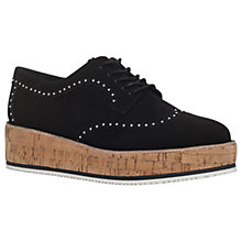 Buy KG by Kurt Geiger Kazam Flatform Brogues Online at johnlewis.com