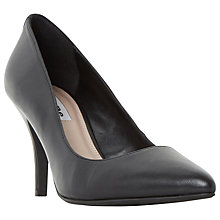 Buy Dune Aeryn Stiletto Heeled Court Shoes, Black Online at johnlewis.com