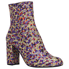 Buy Kurt Geiger Nova High Block Heel Ankle Boots, Multi Online at johnlewis.com