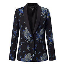 Buy Miss Selfridge Rose Jacquard Blazer, Multi Online at johnlewis.com