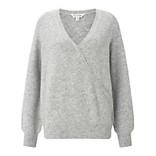 Buy Miss Selfridge Wrap Jumper Online at johnlewis.com