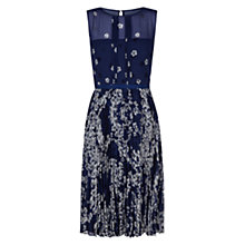 Buy Hobbs Georgina Dress, French Blue Online at johnlewis.com