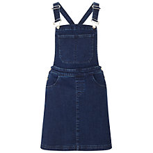 Buy Miss Selfridge Pinny Dress, Dark Denim Online at johnlewis.com