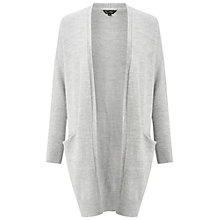 Buy Miss Selfridge Slouchy Pocket Cardigan Online at johnlewis.com
