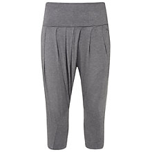 Buy Manuka Salutation Yoga Capris, Grey Online at johnlewis.com