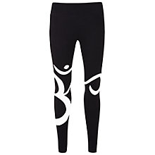 Buy Manuka Om Yoga Leggings, Black/White Online at johnlewis.com
