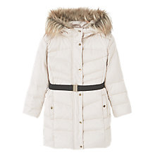 Buy Mango Kids Girls' Water Resistant Feather and Down Coat Online at johnlewis.com