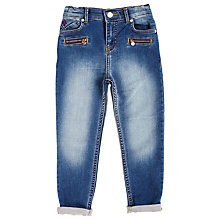 Buy Angel & Rocket Girls' Jersey Jeans, Blue Online at johnlewis.com
