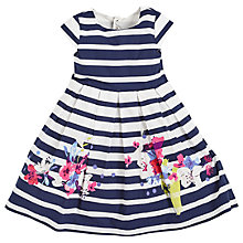 Buy Angel & Rocket Girls' Nautical Floral Dress, Navy Online at johnlewis.com
