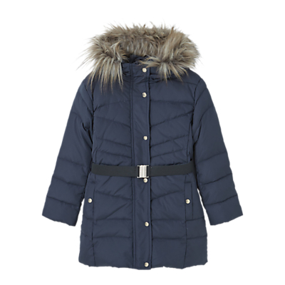 Product photo of Mango kids girls water resistant feather and down coat