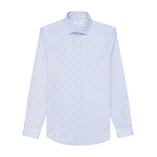 Buy Reiss Shelvey Dot Print Slim Fit Shirt Online at johnlewis.com
