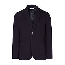 Buy Reiss Charlie Boiled Wool Blazer, Navy Online at johnlewis.com