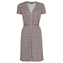 Buy French Connection Meadow Jersey Flared Midi Dress, Multi Online at johnlewis.com