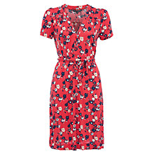 Buy French Connection Meadow Jersey Flared Midi Dress, Sahara Online at johnlewis.com