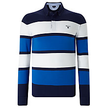 Buy Gant Mirror Stripe Rugby Shirt Online at johnlewis.com