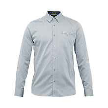 Buy Ted Baker Thefunk Cotton Oxford Shirt Online at johnlewis.com