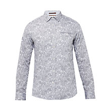 Buy Ted Baker Bottly Paisley Print Cotton Shirt Online at johnlewis.com