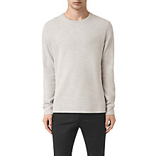 Buy AllSaints Crux Long Sleeve Crew T-Shirt Online at johnlewis.com