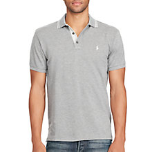 Buy Polo Ralph Lauren Custom-Fit Cotton Mesh Polo Shirt Online at johnlewis.com