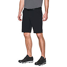 Buy Under Armour Match Play Tapered Golf Shorts, Black Online at johnlewis.com
