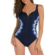 Buy Miraclesuit Soundwave Temptress Swimsuit, Blue Online at johnlewis.com