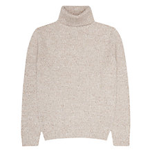 Buy Reiss Ziggy Flecked Roll Neck Jumper Online at johnlewis.com