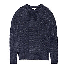 Buy Reiss Star Chunky Knit Jumper Online at johnlewis.com