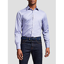 Buy Thomas Pink Eno Texture Super Slim Fit Shirt, Blue/White Online at johnlewis.com