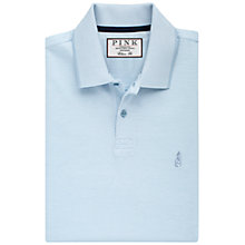 Buy Thomas Pink Birch Plain Classic Fit Polo Shirt, Pale Blue Online at johnlewis.com