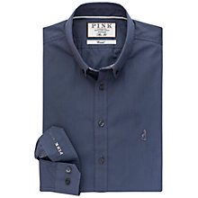 Buy Thomas Pink Cullum Slim Fit Shirt, Charcoal Online at johnlewis.com