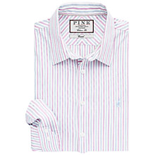 Buy Thomas Pink Nelson Stripe Classic Fit Shirt Online at johnlewis.com