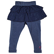 Buy Angel & Rocket Baby Gracie Lace Ra Ra Leggings, Navy Online at johnlewis.com