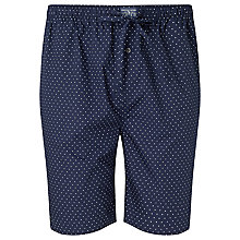 Buy Polo Ralph Lauren Woven Cotton Polka Dot Lounge Shorts, Navy Online at johnlewis.com
