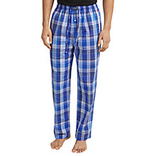Buy Polo Ralph Lauren Tampa Plaid Lounge Pants, Blue Online at johnlewis.com