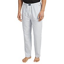 Buy Polo Ralph Lauren Oxford Stripe Lounge Pants, Blue Online at johnlewis.com