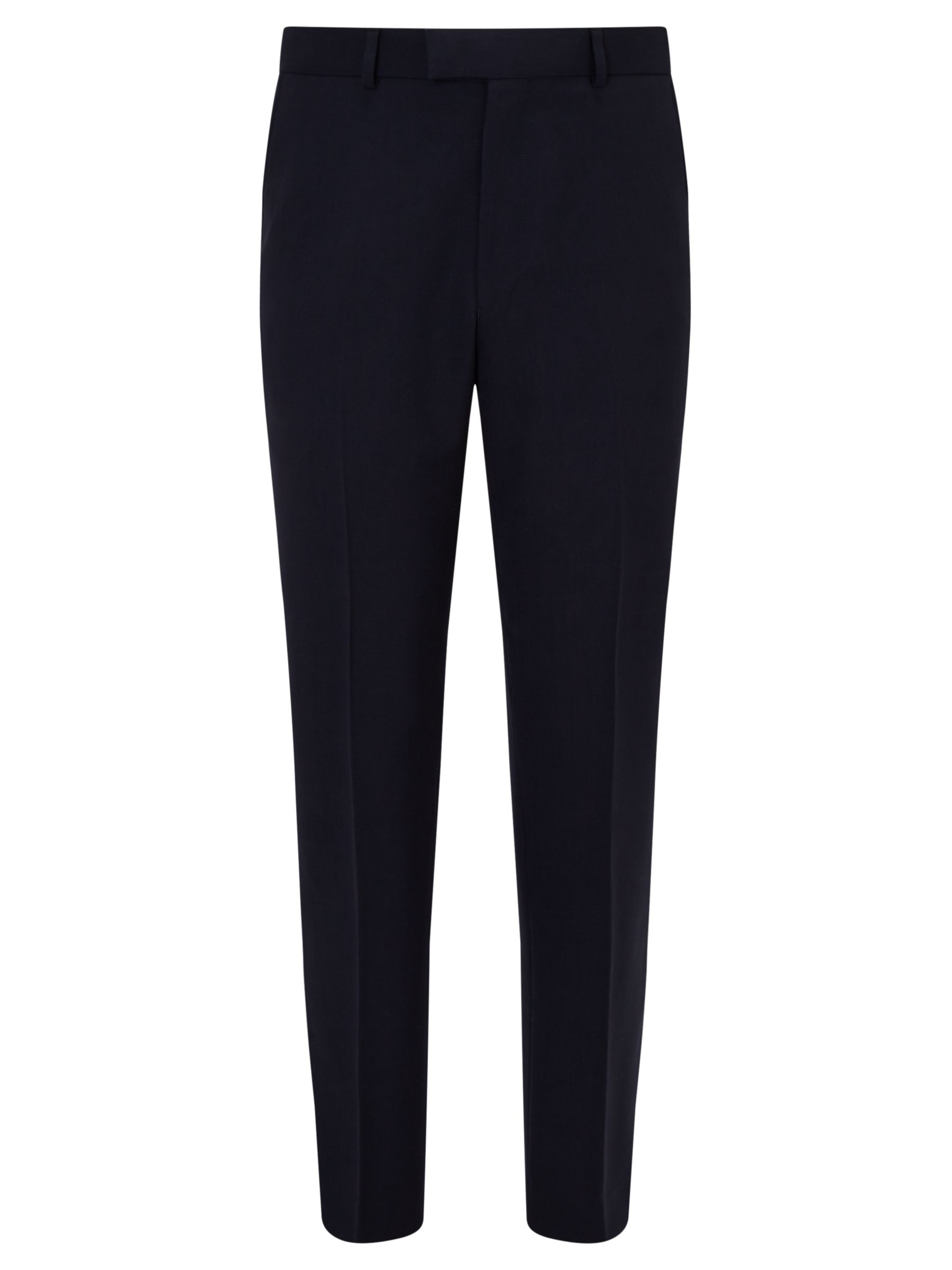Chester by Chester Barrie Chester by Chester Barrie Hopsack Wool Tailored Suit Trousers, Navy
