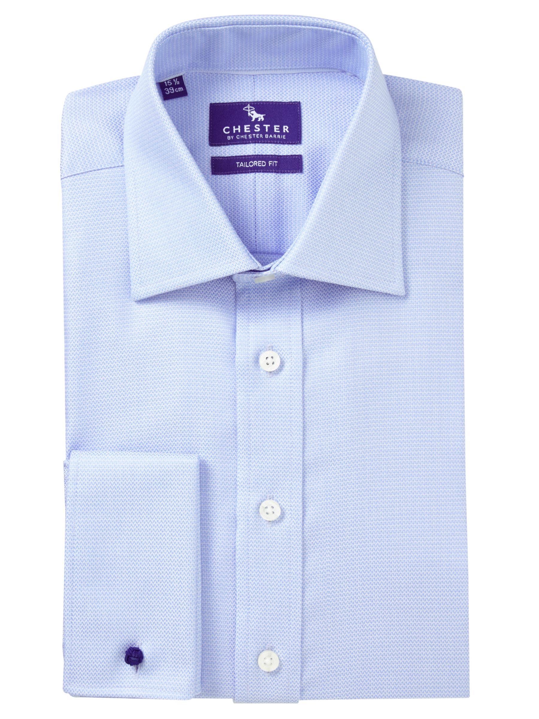 Chester by Chester Barrie Chester by Chester Barrie Jacquard Tailored Fit Shirt