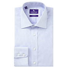 Buy Chester by Chester Barrie Hairline Stripe Tailored Fit Shirt, Blue/White Online at johnlewis.com