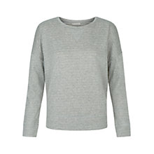 Buy Hobbs Lounge Jumper, Grey Marl Online at johnlewis.com
