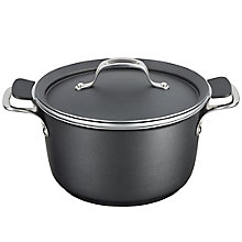 Buy Tefal Experience Aluminium 24cm Stew Pot Online at johnlewis.com