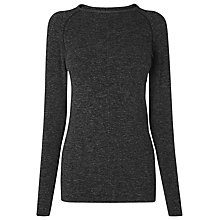 Buy L.K. Bennett Flinn Jersey Top, Charcoal Grey Online at johnlewis.com