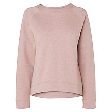 Buy L.K. Bennett Callie Sweatshirt, Bardot Pink Online at johnlewis.com