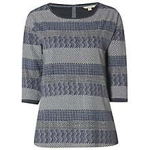 Buy White Stuff Arctic Texture Jersey T-Shirt, Grey Online at johnlewis.com