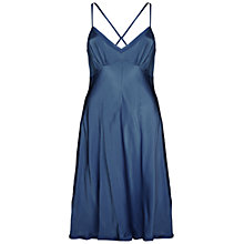 Buy Ghost Violet Dress, Slate Blue Online at johnlewis.com