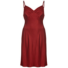 Buy Ghost Willa Dress, Russet Online at johnlewis.com