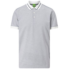 Buy BOSS Green C-Genova Polo Shirt, White Online at johnlewis.com