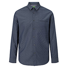 Buy BOSS Green C-Bacchus Shirt, Navy Online at johnlewis.com