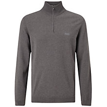Buy BOSS Green Edon 1/4 Zip Jumper Online at johnlewis.com