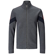 Buy BOSS Orange Zycle Sweatshirt Jacket, Navy Online at johnlewis.com